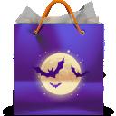 иконки bag, сумка, бумажный пакет, покупки, halloween, хеллоуин, хэллоуин,