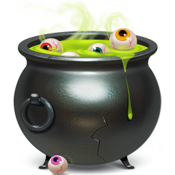 иконки Cauldron, котел, halloween, хэллоуин, хеллоуин,