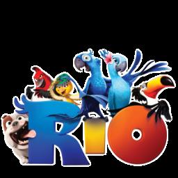 иконки  Blue, попугай, рио, rio,
