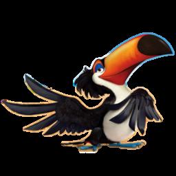 иконки Rafael, птица, рио,