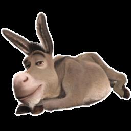 иконки Donkey, осле, шрек,