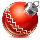 иконки ball red, новый год, игрушка, шарик,