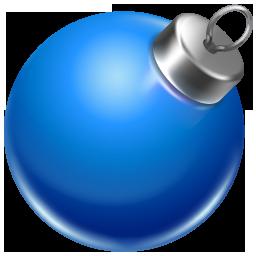 иконка ball blue, новогодний шар, игрушка, новый год, украшение,