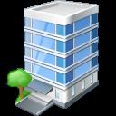 иконки office building, офисное здание,