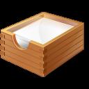 иконки paper box, для бумаг, бумага,