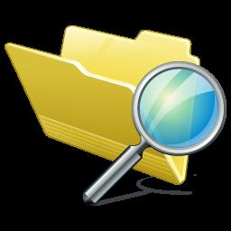 иконки folder search, поиск, папка, поиск по папке,