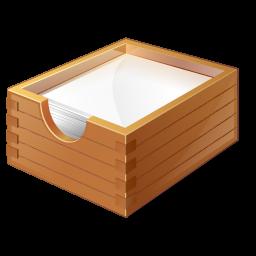 иконка paper box, для бумаг, бумага,