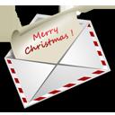 иконки  Christmas Letter, почта, конверт, новый год, новогоднее письмо,