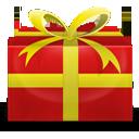 иконки gift, новогодний подарок,