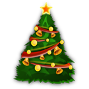 иконки Christmas Tree, рождественская елка, елка, новый год,