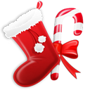 иконка Stocking, новый год,