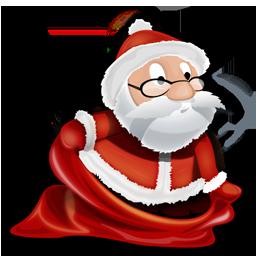 иконки Santa, новый год, санта клаус, дед мороз,