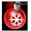 иконка новогодний шарик, новый год,