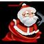 иконка Santa, новый год, санта клаус, дед мороз,