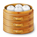 иконки baozi, китайская еда,