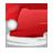 иконка Christmas Santa Cap, шляпа санты, новогодний колпак,