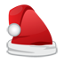иконки Christmas Santa Cap, шляпа санты, новогодний колпак,