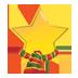 иконка Christmas Star, рождественская звезда, новогодняя звезда,