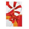 иконки Christmas Candy Cane, рождество, новый год, конфета,