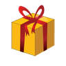 иконки Christmas Gift Box, подарок, gift,