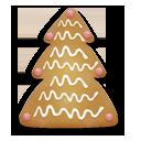 иконки christmas cookie, christmas, рождественское печенье, новогоднее печенье, елка, елочка, новый год, рождество,