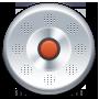 иконка record, запись, диктофон,