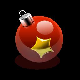иконка Christmas ornaments, шарик, елочная игрушка, новый год, шар,