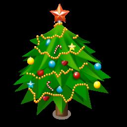 иконки  New Year Tree, новогодняя елка, новый год,