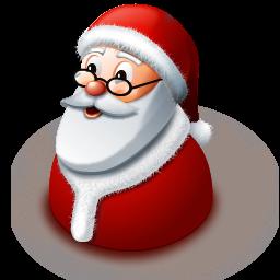иконки  Santa Claus, санта клаус, дед мороз, новый год, рождество,