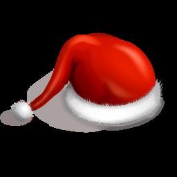 иконки Santa cap, новый год, шапка санты, шапка,