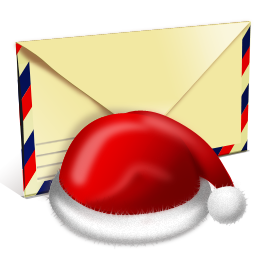иконки  Santa letter, письмо санте, письмо, конверт, новый год,
