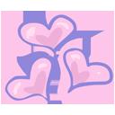иконки lots of love, сердце, любовь, love,