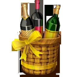 иконки алкоголь, вино, праздник, basket,