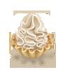 иконки  пирожное, еда,