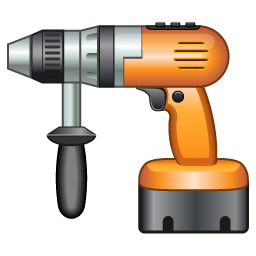 иконка дрель, drill,
