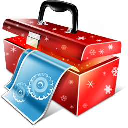 иконки инструменты, новый год, рождество, настройки, configuration,