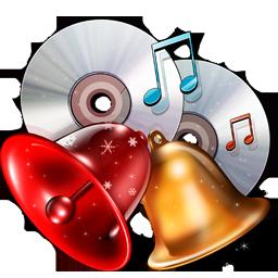 иконки моя музыка, новый год, рождество, my music,