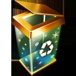 иконка пустая корзина, recycle bin empty,