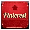 иконки pinterest,