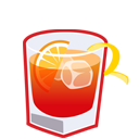 иконка алкоголь, выпивка, коктейль, americano,