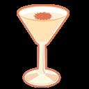 иконки алкоголь, коктейль, brandy alexander,