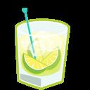 иконки коктейль, caipirinha,