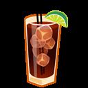 иконки коктейль, cuba libre,