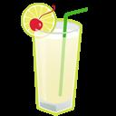 иконка алкоголь, коктейль, выпивка, gin fizz,