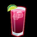 иконки коктейль, выпивка, алкоголь, sea breeze,