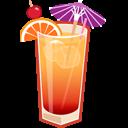 иконки алкоголь, текила, tequila sunrise,