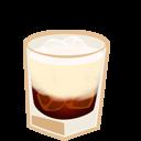иконка коктейль, алкоголь, white russian,