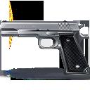 иконка пистолет, оружие,