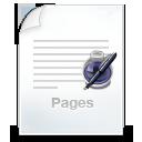 иконка pages, страницы,
