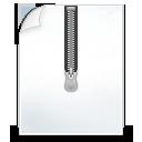 иконки  архив, молния, файл, compressed,